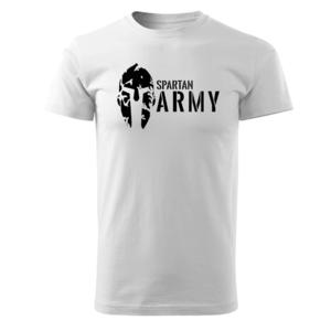 WARAGOD tricou spartan army, alb 160g/m2 imagine