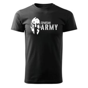 WARAGOD tricou spartan army, negru 160g/m2 imagine