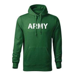 WARAGOD hanorac barbati cu gulgă army, verde 320g / m2 imagine