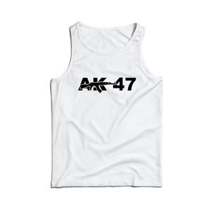 Waragod maieu pentru bărbați AK-47, alb 160g/m2 imagine