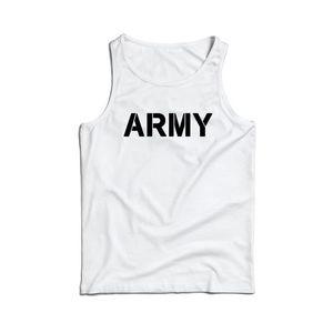 Waragod maieu pentru bărbați ARMY, alb 160g/m2 imagine