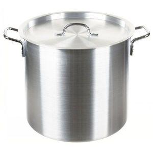 MFH oală din aluminiu cu capac, 30 litri imagine
