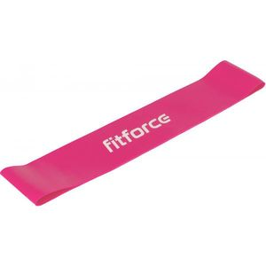Fitforce EXEBAND LOOP EXTRA SOFT roz ns - Cauciuc antrenament imagine