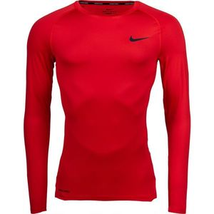 Nike NP TOP LS TIGHT M verde S - Tricou cu mânecă lungă bărbați imagine