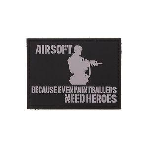 GFC Tactical Petic Airsofters, negru, 6 x 7, 5cm imagine