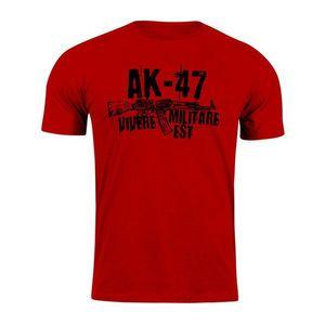 WARAGOD tricou Seneca AK-47, roșu 160g/m2 imagine
