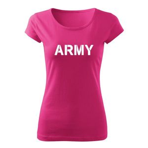 WARAGOD tricou de damă army, roz150g/m2 imagine