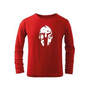 WARAGOD Tricouri lungi copii Spartan, roșu imagine