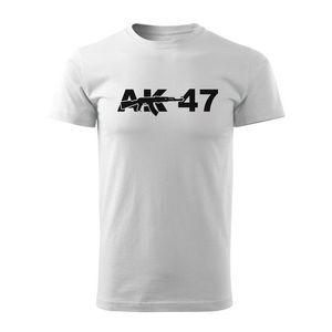 WARAGOD tricou ak47, alb 160g/m2 imagine