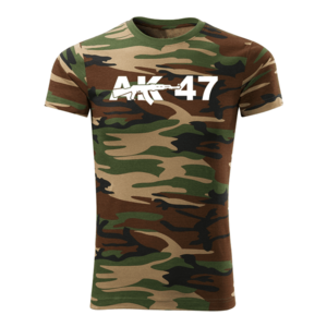WARAGOD tricou camuflaj ak47, 160g/m2 imagine