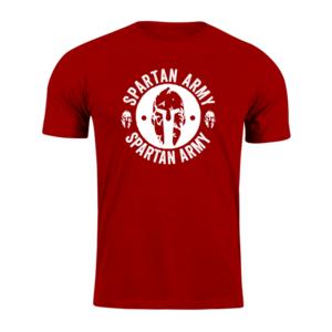 WARAGOD tricou spartan army, roșu 160g/m2 imagine