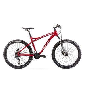 Bicicleta de munte pentru barbati Romet Rambler Fit 26 Bordo/Argintiu 2021 imagine