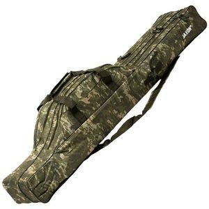 Husa Jaxon X-Team XRT, 3 compartimente, camuflaj (Lungime husa: 125 cm) imagine