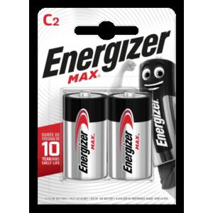 Energizer MAX baterie alcalină C E93, 2buc imagine