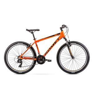 Bicicleta de munte pentru barbati Romet Rambler R6.0 Portocaliu 2021 imagine