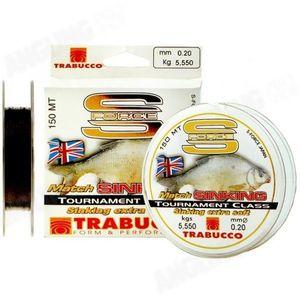 Fir Monofilament S-Force Match Sinking 150m Trabucco (Diametru fir: 0.14 mm) imagine