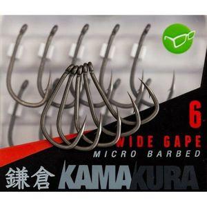Carlige Kamakura Wide Gape Barbed 10buc/plic Korda (Marime Carlige: Nr. 4) imagine