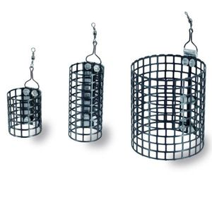 Momitor Colmic Round Cage Feeder, 25x56mm (Greutate plumb: 40g) imagine
