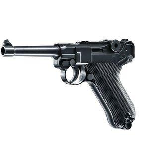 Pistol airsoft CO2 Luger P08 Parabellum / 15 bb / 2J Umarex imagine