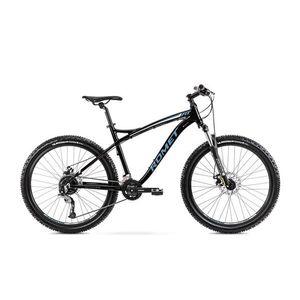 Bicicleta de munte pentru barbati Romet Rambler Fit 26 Negru/Albastru 2022 imagine