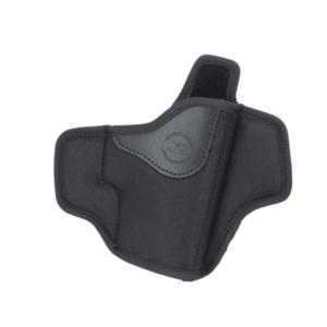 Falco Mayer OWB toc deschis nailon pancake pentru curea Glock 17, drept negru imagine