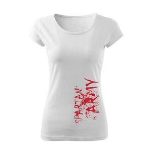 WARAGOD tricou de damă spartan army, alb 150g/m2 imagine