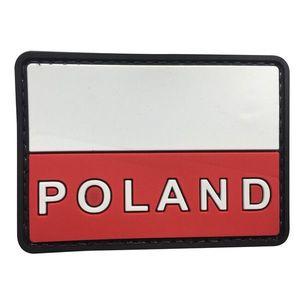 WARAGOD Petic 3D Polonia text 7.5x5cm imagine