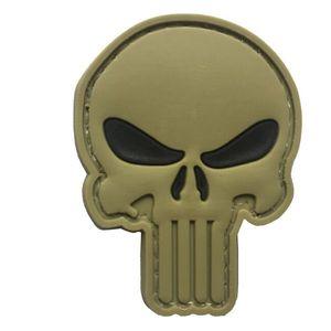 WARAGOD Petic 3D Punisher black eyes 5x4cm imagine