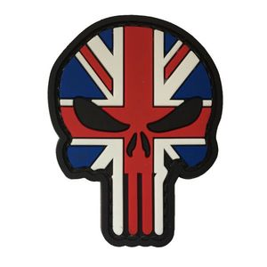 WARAGOD Petic 3D UK Punisher 6x4.5cm imagine