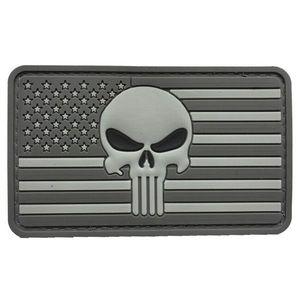 WARAGOD Petic 3D US Punisher Grey 8.5x5cm imagine