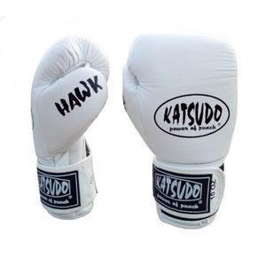Katsudo mânuşi box Hawk, albe imagine