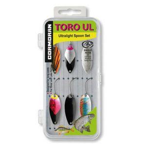 Set 6 lingurite oscilante pastrav Cormoran Toro UL1-UL3 imagine