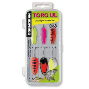 Set 6 lingurite oscilante pastrav Cormoran Toro UL4-UL5 imagine