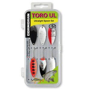 Set 6 lingurite oscilante pastrav Cormoran Toro UL6-UL7 imagine