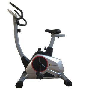 Bicicleta magnetica FitTronic 601B, volanta 9 kg, greutate suportata 120 kg, 8 trepte de rezistenta la pedalare, display mare, afisare functii utile imagine